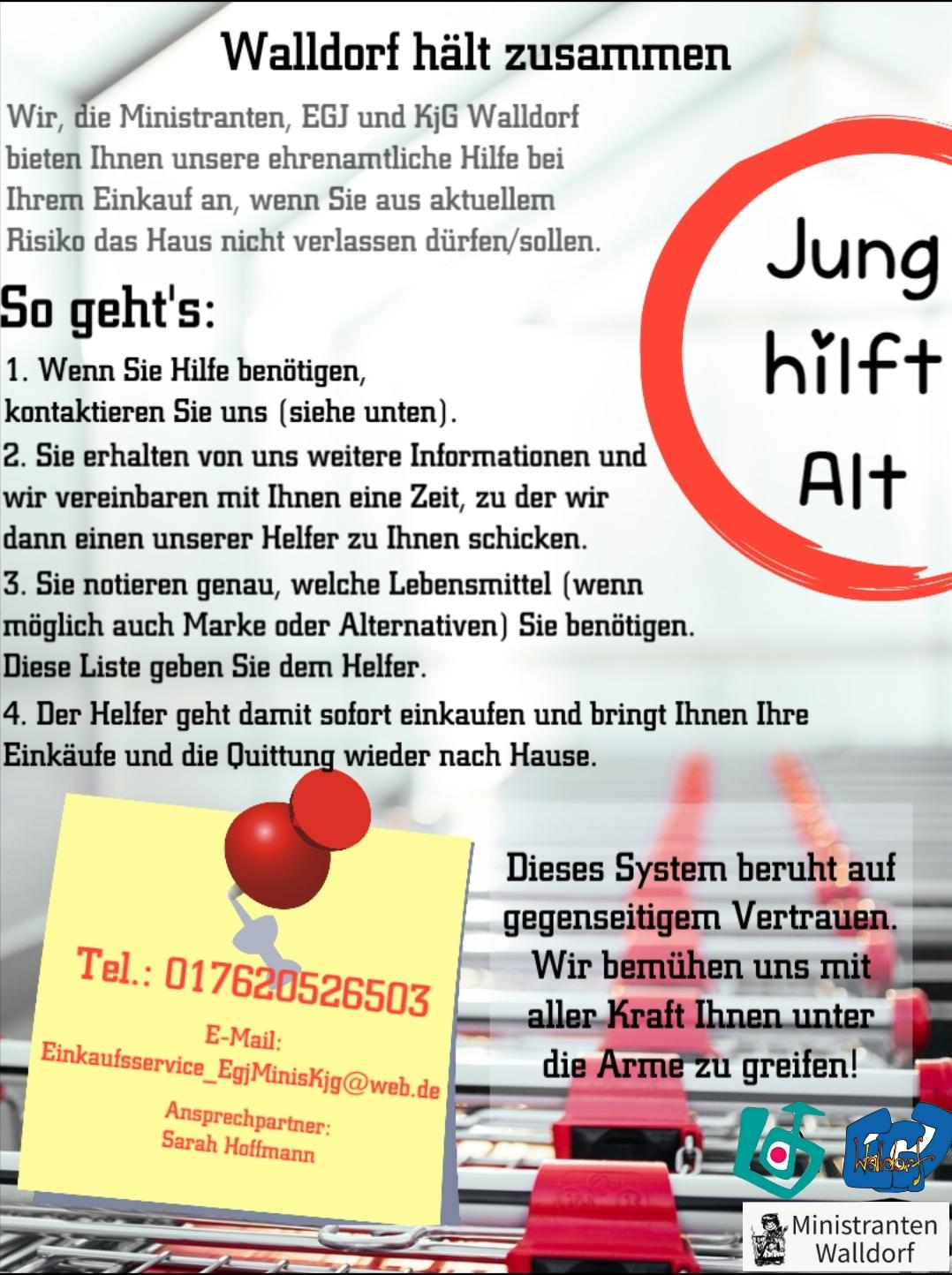 Flyer zur Aktion